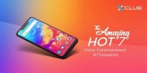 Infinix Unveils Hot 7 Device In Nigeria